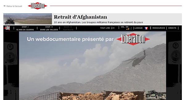 My first webdocumentary was published on the website of the French newspaper Liberation.