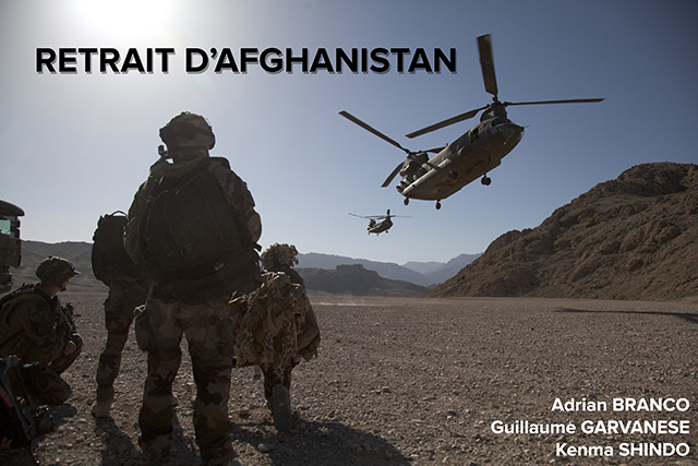 Retrait d'Afghanistan